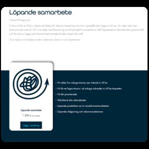 Kompetentor webbshop integrerad ehandel på din hemsida